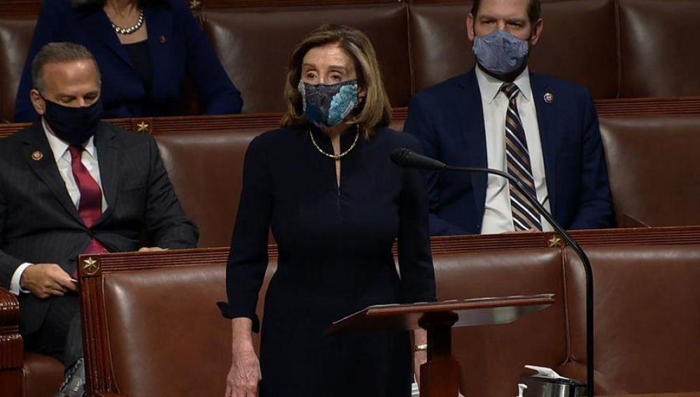 El Congreso estadounidense da el visto bueno al 'impeachment' contra Trump