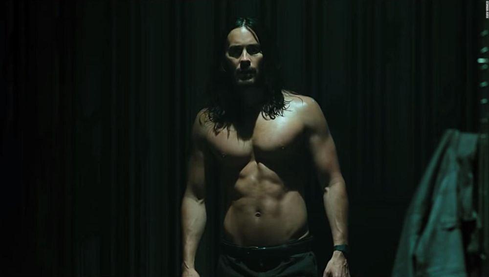 El actor Jared Leto, en una imagen promocional de la película 'Morbius'