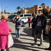 El alcalde reclama a la Generalitat que derribe los bloques 21 y 23 de Palmerales este mismo año