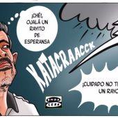 Almirón se juega en Vallecas gran parte de su futuro en el Elche.