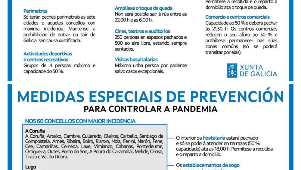 Medidas xerais prevención