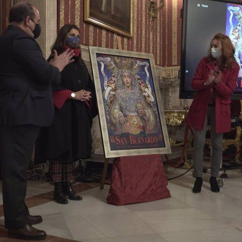 Presentación del cartel conmemorativo del 75º aniversario de la concesión del título de Mariana a la ciudad de Sevilla