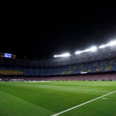 Vista general del Camp Nou.