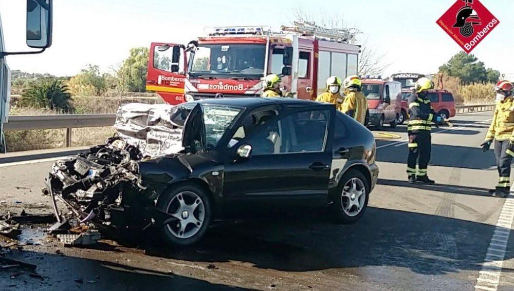 Un accidente registrado en la CV91 a su paso por Guardamar deja un fallecido