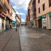 Calle comercial de Alcázar de San Juan