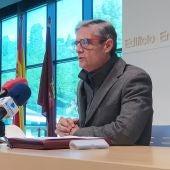 El alcalde de Arcos, Isidoro Gambín