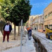 Las obras se centran en la renovación de la red de saneamiento para aumentar la capacidad captación y evacuación de aguas pluviales