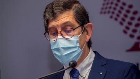 El exconsejero de Salud de Murcia, Manuel Villegas