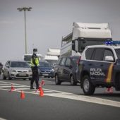 Control policial en Sevilla