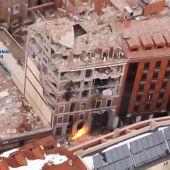 Al menos tres muertos tras la explosión en la Parroquia de La Paloma de Madrid