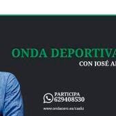 Onda Deportiva Cádiz, con José Antonio Rivas (sin hora)