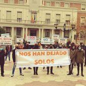 Los hosteleros salen a la calle en Castellón.