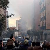 """Habla un vecino que ha presenciado la explosión desde su casa: """"Es espeluznante lo que hemos visto"""""""