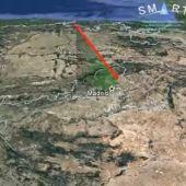 Una roca de un asteroide impacta contra la atmosfera generando una gran bola de fuego sobre Madrid