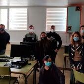 Alumnos del IES Zaurín de Ateca