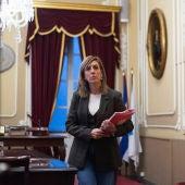 Mara Rodríguez, portavoz del PSOE de Cádiz
