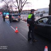Un control de la Policía Local de Ciudad Real