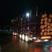 La Guardia Civil de Ourense detecta un camión circulando con exceso de peso