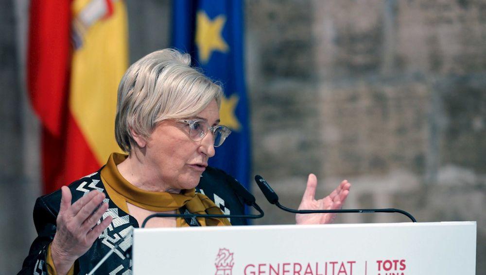 La Consellera de Sanidad Universal, Ana Barceló.