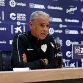 Sergio Pellicer, entrenador del Málaga
