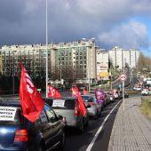 Caravana de protesta por el convenio de limpieza
