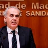 El consejero de Sanidad madrileño, Enrique Ruiz Escudero.