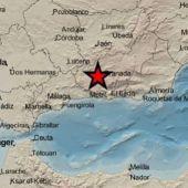 Lugar donde se ha producido el terremoto, Santa Fe (Granada)