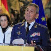 El jefe del Estado Mayor de la Defensa (JEMAD), Miguel Ángel Villarroya