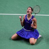 Carolina Marín, campeona olímpica de bádminton, volvió a ganar el título en Bangkok