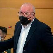 El excomisario José Villarejo declara en el juicio en su contra.