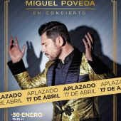 El concierto que iba a celebrarse este sábado, 30 de enero, lo hará el 17 de abril