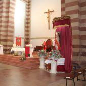 Celebrado San Sebastián sólo con actos religiosos en la Parroquia de Sta Quiteria
