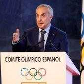 El presidente del Comité Olímpico Español, Alejandro Blanco