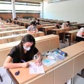 Los alumnos se juegan su futuro en las pruebas de la EvAU