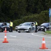 Control Guardia Civil en Cantabria