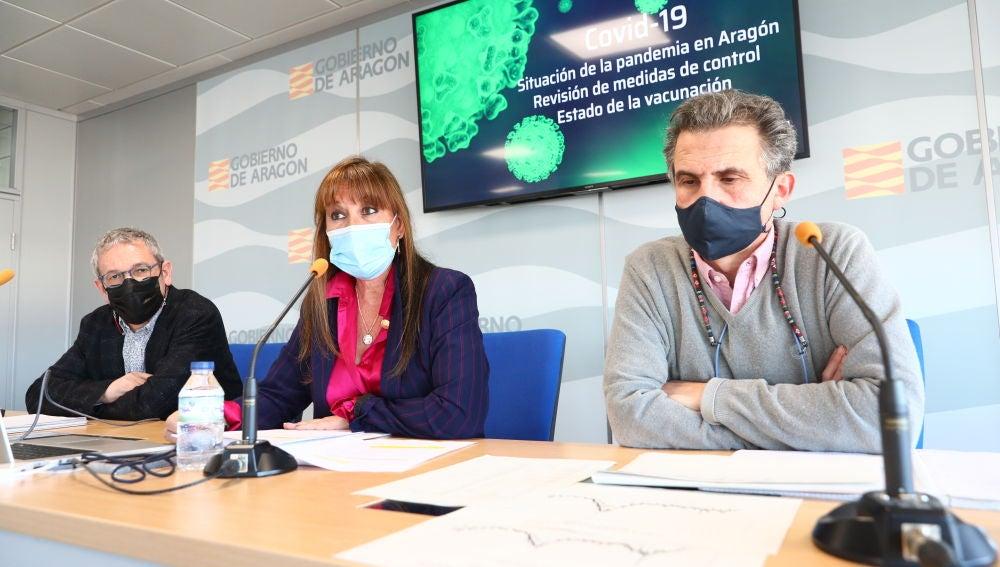 Los responsables de la sanidad aragonesa han anunciado estas restricciones en rueda de prensa