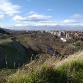 Vista de Alcalá de Henares desde el Parque de los Cerros