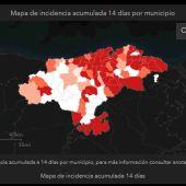Sanidad confina cuatro municipios de Cantabria