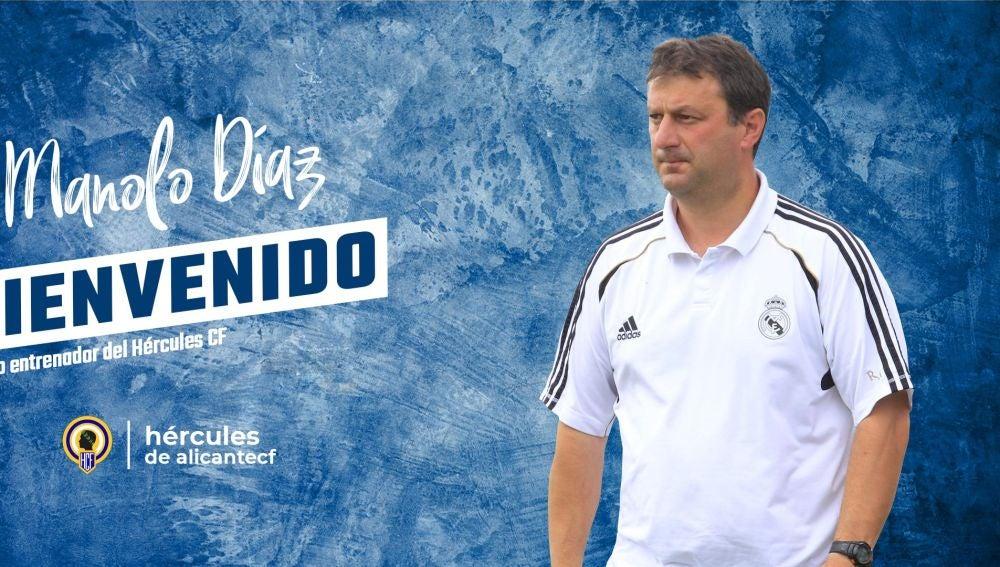 Manolo Díaz, nuevo técnico del Hércules.