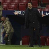 Cholo Simeone, entrenador del Atlético de Madrid