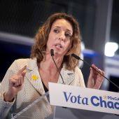 La candidata del PDeCAT a la Generalitat, Àngels Chacón