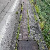 Arranxo estrada vella de Marín