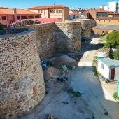 Obras del entorno de la Era del Moro de la Muralla de León