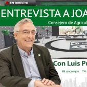 Entrevista al consejero de Agricultura, Joaquín Olona