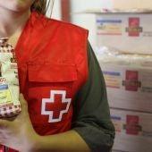 Voluntarios de la Asamblea provincial de Cruz Roja en Alicante