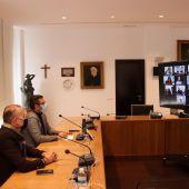 Reunió telemàtica del consell rector de festes.