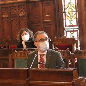 Comparecencia en la JGPA del consejero de Salud, Pablo Fernández