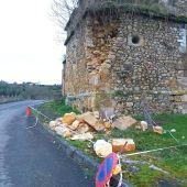 La iglesia de San Cipriano avanza en su ruina.