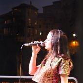Andrea Motis, durante un concierto en el Parador de Cuenca el año pasado