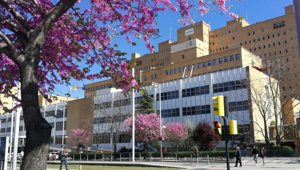 El mayor número de pacientes ingresados por COVID se concentra en el hospital Miguel Servet